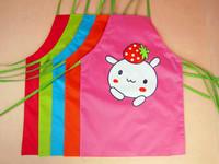 Child apron painting baby clothing eating bib waterproof  cartoon apron baby pinafore Free Shipping