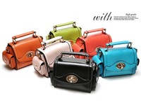 Candy color Women Vintage Retro Leather Shoulder Bag Messenger Tote Handbag Fashion Small