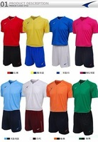 Ucan soccer jersey team clothing jersey set s02501