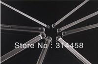 8*200mm Glass Sounding Male Urethral Stretching Dilatator Crystal Urethral Plug Masturbators Sex Toy For Men L309-4