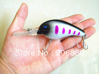 Deep crankbaits 12CM-21.2G-4# HOOKS Fishing Lures for tackle sea pesca fishing wobblers crank bait Free shipping