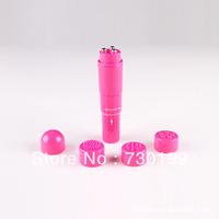 2.5*10cm Pocket Rockets bullets Waterproof Mini vibrator,4 Replaceable Head,Face Massager,Sex Toys For Women a308s308