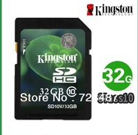 SD card flash memory card jinshidun Class10 32G SD HC card sd memory card Free Shipping