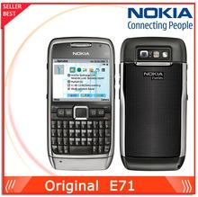 original phone Nokia E71 cell phone QWERTY Keyboard 3.2MP Wifi GPS Bluetooth Unlocked 3G phone Free Shipping(China (Mainland))