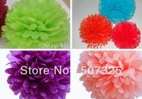 100pcs - 14'' =35CM Tissue Pom Pom Paper Pompoms Wedding Decoratons Party Poms House Decor, 25 Colors To Pick