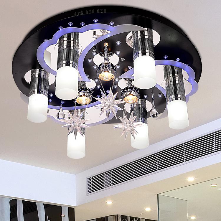 moderne-korte-woonkamer-verlichting-slaapkamer-lamp-kristal ...
