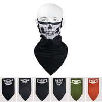2014 new Outdoor cycling wind mask dust uv skeleton mask full face cycling skull mask magic bandana scarf