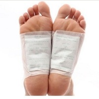 50packs=100pcs/lot Kinoki Detox Foot Pads Patches with Adhesive / No Retail Box(100pcs=50pcs Patches+50pcs Adhesives)