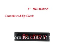 2014 Hot Selling  1'' Digital High HH:MM:SS Countdown Count Up Sport Interval Time Red Indoor LED Countdown Clock Timer