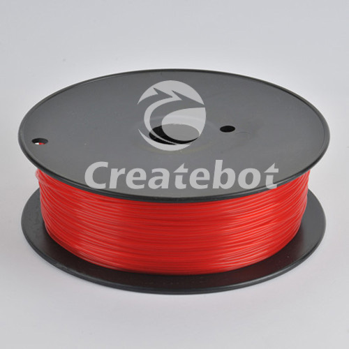 Пластмасса PLA Filament for 3D Printer in Red Color