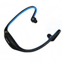 New 2014 Sports Headset Handsfree MP3 Player 2GB Blue