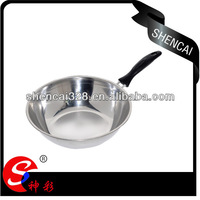 32cm Stainless Steel Saucepan Deep Frying Pan