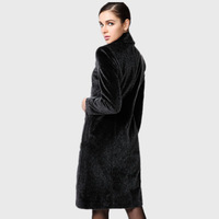 Fur outerwear 2014 original design imitation mink overcoat outerwear female fur outerwear