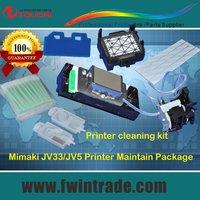 Mimaki cjv30 print head cleaning assy ink pump + wiper + damper + data cable + cap top + cleaning swab + print head