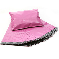"free shipping 100pcs/lot 10""*13"" factory wholesale pink high quality express bag poly mailer bag mailing bags poly envelope"