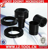 Free Shipping ! Canon SLR/DSLR Camera Adapter for Microscopes 2X