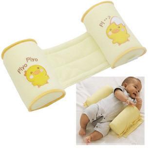 Baby Shaping Pillow Orthopedic Flat Toe Cap Anti-roll Pillows Yellow Chick Newborn Freeshipping(China (Mainland))