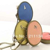 8 Pcs Fairy Tale Round Purse PU Women / Coin Purse / Wallet Women / Coin Bag / Cosmetic Bag