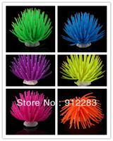 Free shipping 10pcs Random Mix Colors Aquarium Fish Tank Sea Artificial Fake Coral Ornament Decoration SZ110
