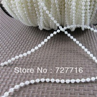 4mm ABS pearl String / Garland for wedding decor / String light ornament 75Meter / roll  -Free shipping