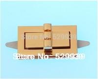 Free drop ship 41*22*19mm 20sets/lot bags hardware turn locks handbags lock drop catch bags accessory /wallets locks