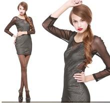 popular net fabric dress