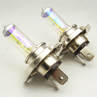 2 Pcs /LOT H4 12V 60 / 55W Golden Yellow Halogen Xenon Fog Light Bulbs 3000K Wholesales Free Shipping