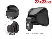 23 x 23cm Camera Flash Diffuser Soft Box Flash Light Strobe stand Softbox Diffuser 430ex sb800 Free shipping
