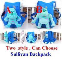 Monsters University Mike Wazowski backpack/bag,James P. Sullivan backpack/bag , Randall Boggs backpack/bag ,