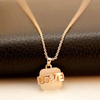 free shipping hot-selling fashion necklace Fashion love - eye necklace ol female punk chain necklace
