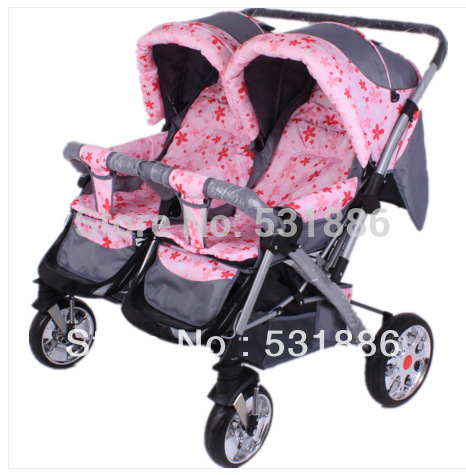 Free-shipping-two-seats-baby-stroller-baby-stroller-for ...
