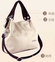 Promotion Special Offer Leather Restore Ancient Inclined Big Bag Women Cowhide Handbag Bag Shoulder Free Shipping