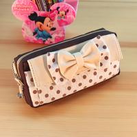 LZ 2014 Korea stationery pencil case stationery box pencil box cosmetic bag storage bag 19*8.5cm