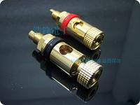 Hi-fi av audio accessories advanced copper gold plated ternminal speaker amplifier terminal