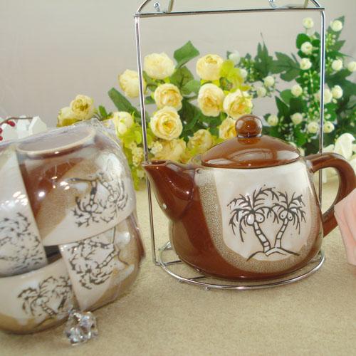 B01 tea 3 set fashion and cheap tea or coffee sets made by porcelain