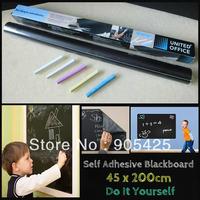 Huge Blackboard Removable Vinyl Sticker chalkboard Decal sticker Peel & Stick on wall paper Mural Decal blackboard sticker