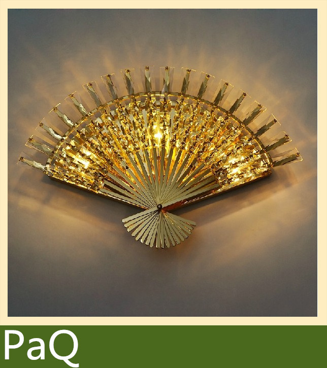 ZOMITI Crystal Wall lamp Peacock lights for Bedroom, living room ,Hotel led light fixture(China (Mainland))