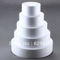 Hot Sale 8'' Round Styrofoam Foam Cake Dummy Modelling Sugarcraft Flower Decorating 70-087