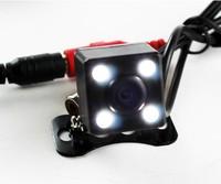 HD hang Car Rear View Camera with 4 Lamp infrared Night Vision 170 Degree Waterproof Rear camera Reverse Backup parking camera