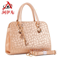 New 2014 Fashion Desigual Ayifan Brand Handbags PU Leather Vintage Emboss Shoulder Bags Women Messenger Bag Items Totes DD09
