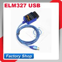 2014 Super mini elm 327 Auto code reader OBD SCAN car diagnostic tool interface ELM327 USB interface V1.5 version free shipping