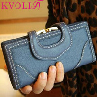 BUENO 2014 hot new love hasp women wallets long design leather purses day clutch clutches card holder HL1587