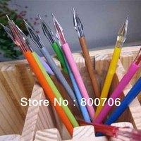 240 Pcs / Lot Cut Colorful Korea Cool Diamond Gel Pen  / Gen Ink Pen / Roller Pen