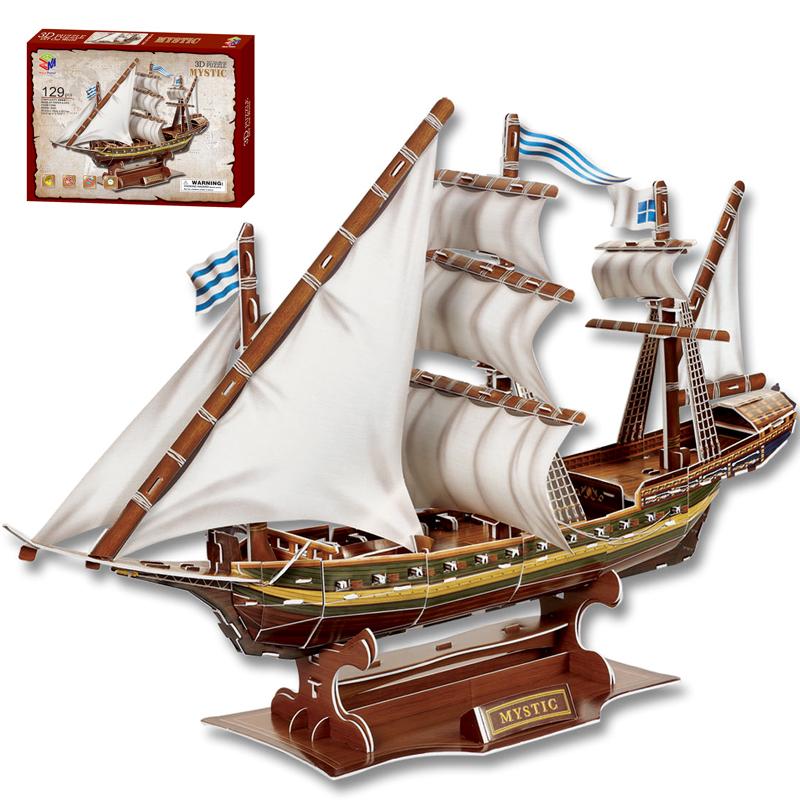 Как сделать модель корабля самому