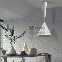 Lift brief modern bar counter stair small tube pendant light