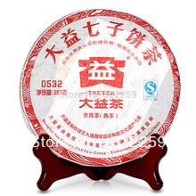 [DIDA TEA] 2011 yr Yunnan Menghai Dayi TAETEA 0532 101 Ripe Shu Puer Pu Er Pu erh cake ,Qi Zhi Bing Cha Cooked Puerh Tea 357g