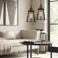 Copper lamp base loft antique vintage pendant light