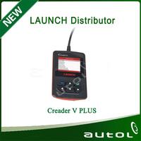 High Quality  Car Universal Code Rearder Launch CReader V Plus OBDII Auto Scanner Creader 5 Plus