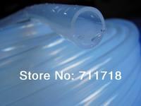 12*14 mm Soft transparent Food Grade Medical Use FDA Silicone Rubber Flexible Tube / Hose / Pipe