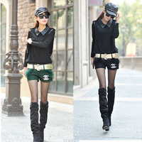 Girl country. The new 2014 shorts. Sexy and fashionable pants. Cloth shorts rabbit hair hot pants show thin dress shorts